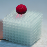 3D printed hydrophobic structure